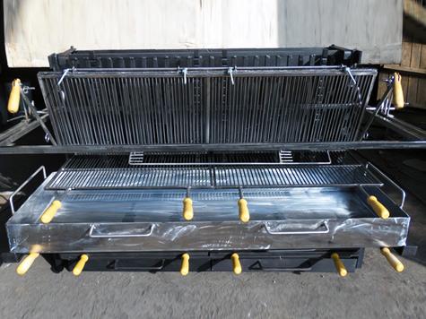 Vente de barbecue encastrables réalisés par une ferronnerie