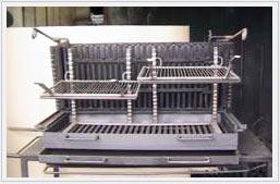 vente de barbecue horizontal et vertical. Black Bedroom Furniture Sets. Home Design Ideas