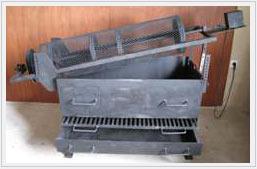 vente de grilles pour chataignes en fer forg. Black Bedroom Furniture Sets. Home Design Ideas